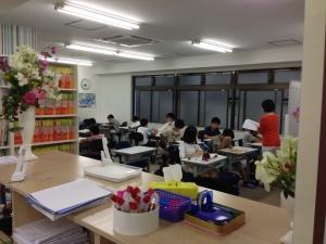 明利学舎授業風景