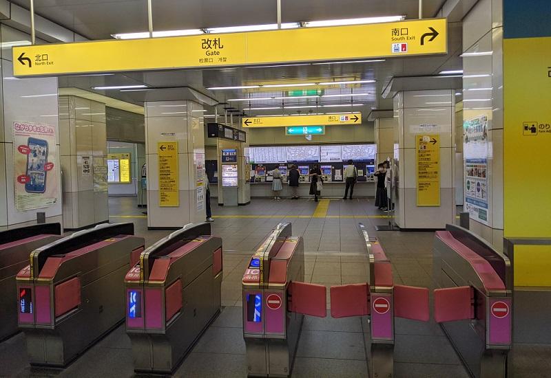 西葛西駅からのアクセス1