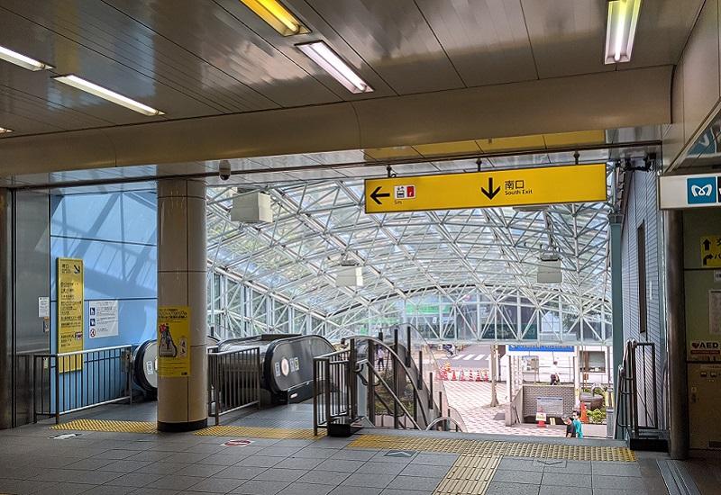 西葛西駅からのアクセス2