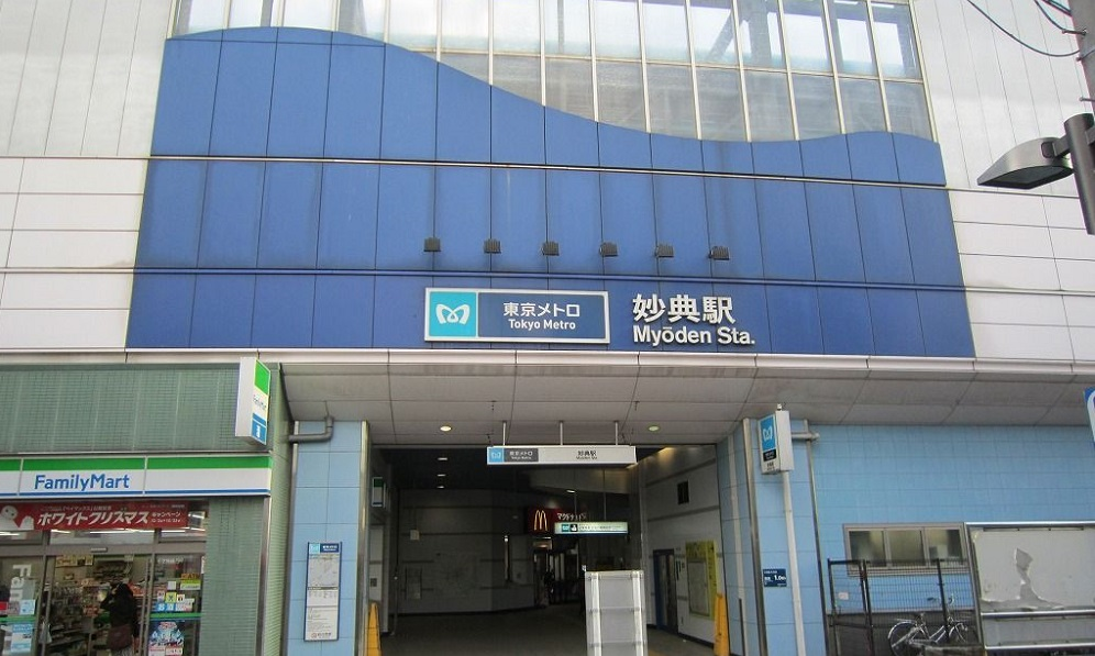 千葉県市川市の妙典駅
