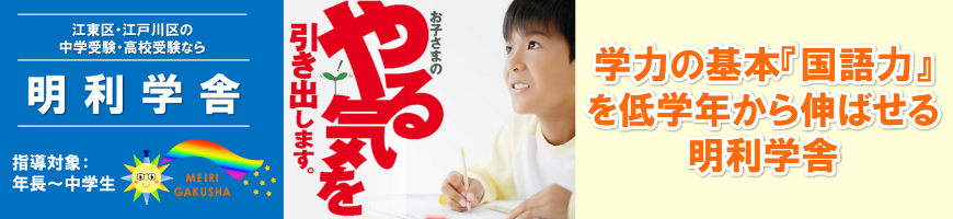 学力の基本国語力を低学年から