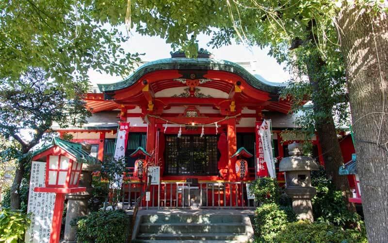 江東区大島の大島稲荷神社