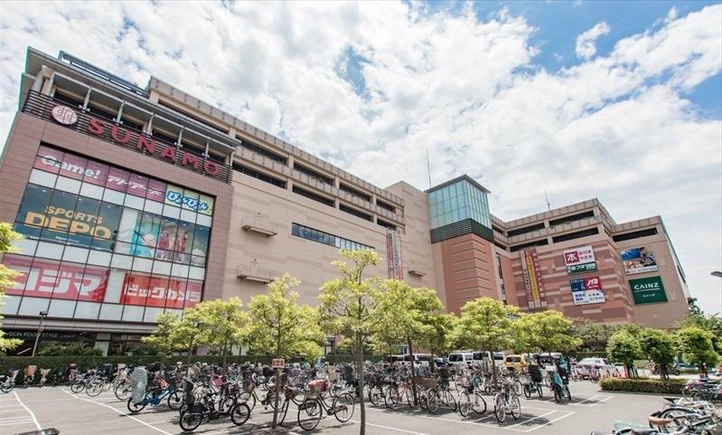 江東区新砂の南砂町ショッピングセンターSUNAMO